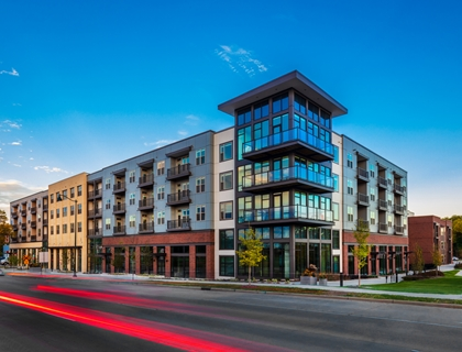The Marling Apartments Front Exterior Photo